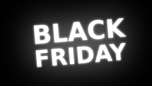 Last-minute text message marketing for Black Friday