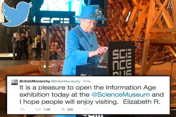 Even Queen Elizabeth II uses technology!