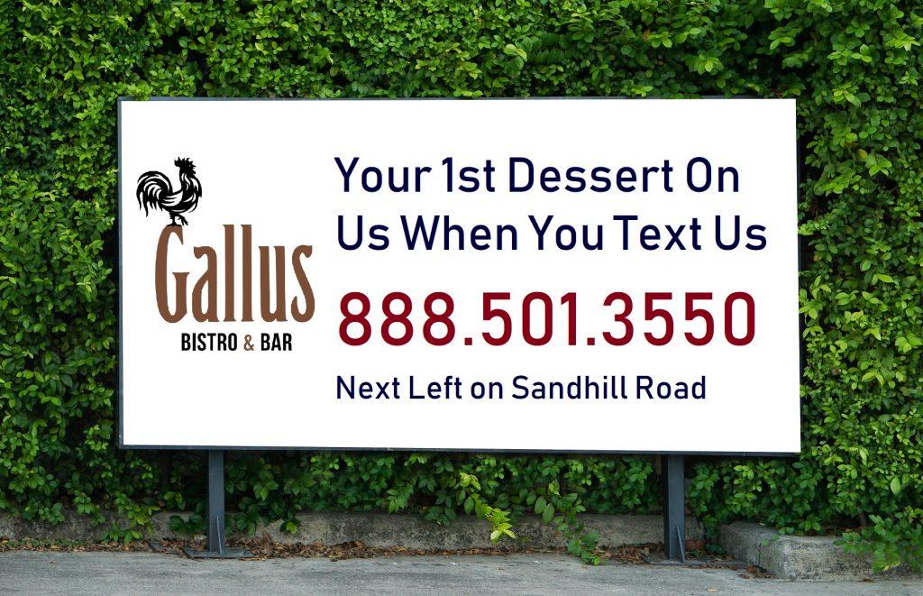 sms marketing billboard
