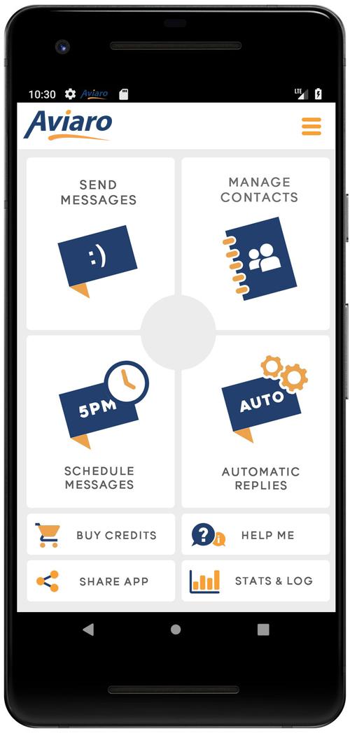 aviaro mobile texting platform